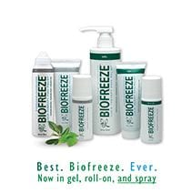 Free Sample of BioFreeze Available