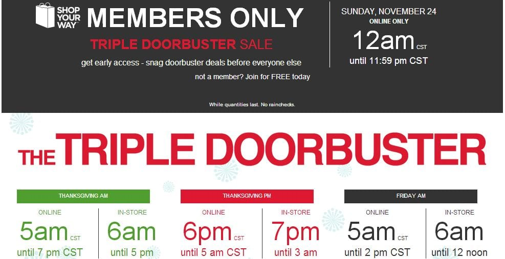 feadf9e63 Kmart BLACK FRIDAY 2013 Ad ~ In Store or ONLINE!