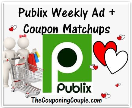 Publix Coupon Matchups for 8-9
