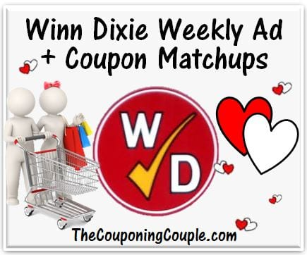 Winn Dixie Coupon Matchups for xx-xx-xx