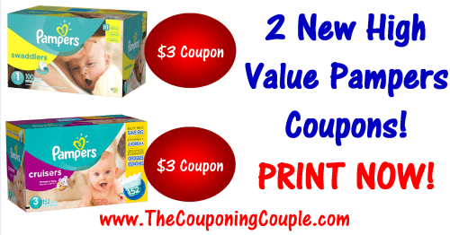 graphic relating to Printable Pampers Coupons titled 2 Fresh new Pampers Printable Coupon codes ~ Higher Significance PRINT Already!
