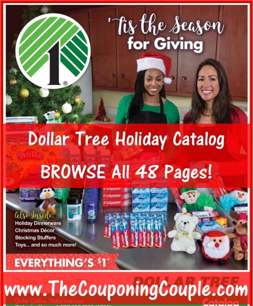 Dollar Tree 2016 Holiday Catalog ~ BROWSE All 48 Pages!