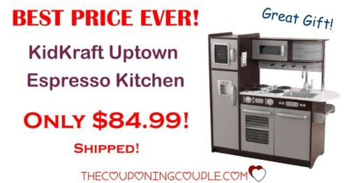 BEST PRICE! KidKraft Uptown Espresso Kitchen - Only $84.99