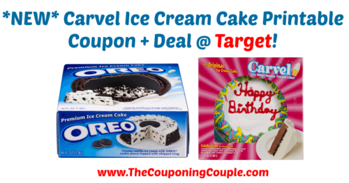 photograph relating to Oreo Printable Coupons referred to as Contemporary* Carvel Ice Product Cake Printable Coupon + Bundle @ Aim!