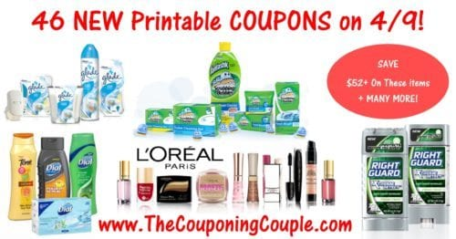 46 NEW Printable Coupons