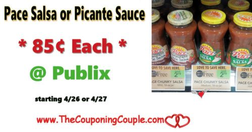 Pace Salsa or Picante Sauce Only $0.85