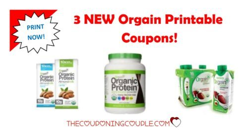 photograph regarding Organic Printable Coupons named 3 Contemporary Orgain Printable Discount codes ~ Preserve $8.50! ~ PRINT At present!