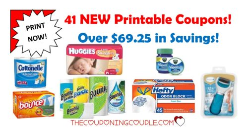 41 new printable coupons