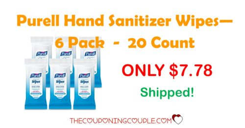 purell hand sanitizer wipes travel pack