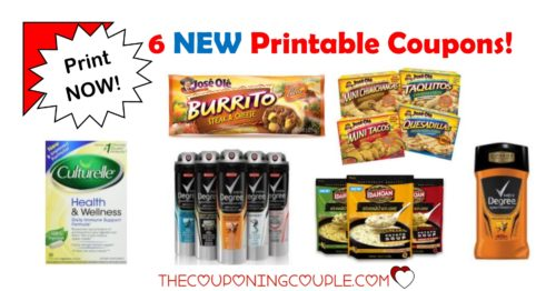 graphic regarding Culturelle Coupon Printable named 6 Contemporary Printable Coupon codes ~ More than $10 within just Price savings! Wonderful!