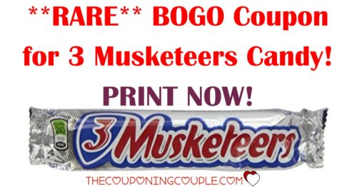 3 Musketeers Candy