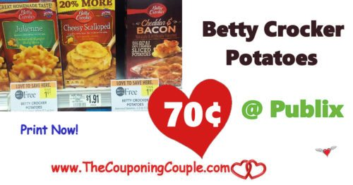 Betty Crocker Potatoes $0.70 each