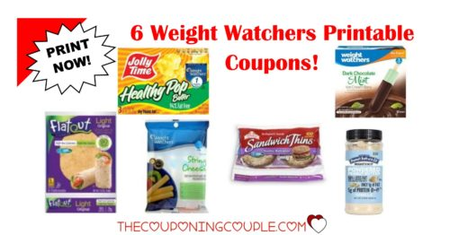 picture about Weight Watchers Printable Coupons named 6 Excess weight Watchers Printable Discount codes ~ $6 within Discounts! PRINT Presently!