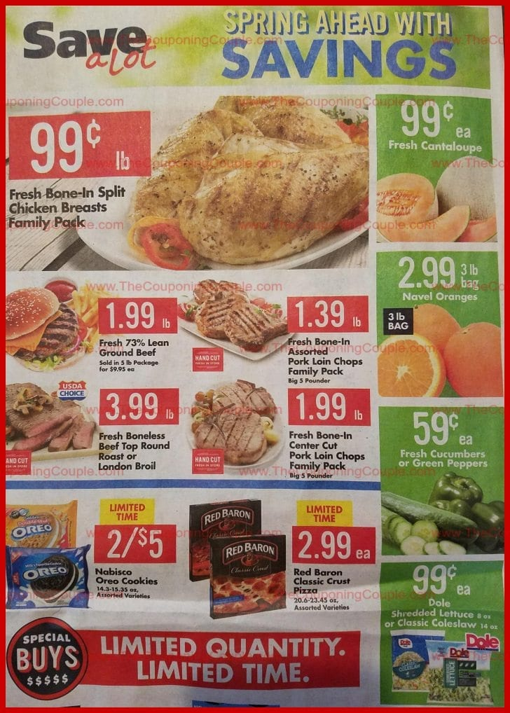 Save A Lot Weekly Ad 4/11/18 - 4/17/18