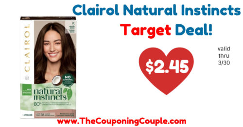 HOT Deal on Clairol Natural Instincts Hair Color