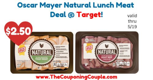 Oscar Mayer Natural Lunch Meat