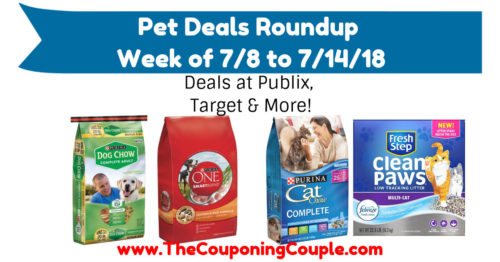 Pet Deals Roundup for the Week of 7-8