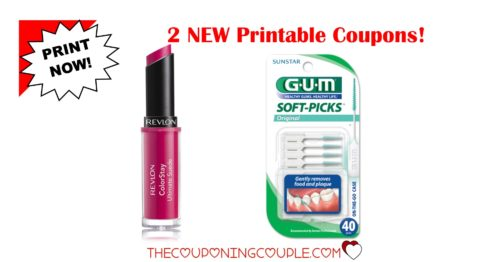 picture relating to Revlon Printable Coupon named 2 Refreshing Printable Coupon codes ~ Revlon GUM Delicate-Selections! PRINT Currently!