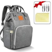 Insulated Diaper Bag Backpack Tote COUPON CODE for $15.49