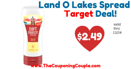 Quick Deal on Land O Lakes Soft Squeeze Spread