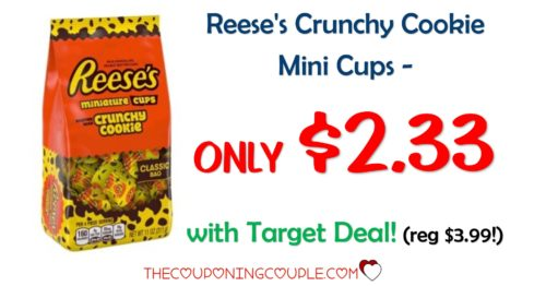 Reese's Crunchy Cookie Mini Cups