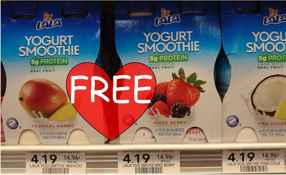 Lala Yogurt Smoothie 4 Pack