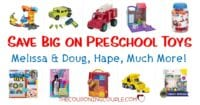 Dolls, Preschool Toys and More! Starting at $5.49! WOO HOO!