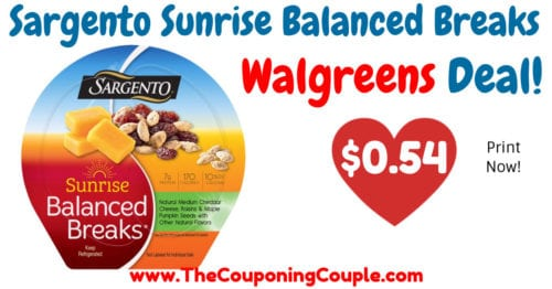 picture regarding Sargento Printable Coupon named Fresh new Sargento Dawn Nutritious Breaks Coupon + Walgreens Bundle!
