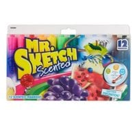 Mr. Sketch Scented Markers, Chisel Tip, 12 Pack - ONLY $4.95 Shipped!