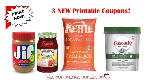 image regarding Cascade Coupons Printable identify 3 Clean Printable Coupon codes ~ Cascade, Jif, Kettle Model!
