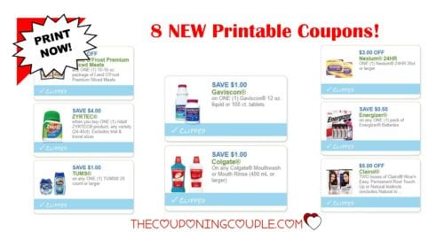 photograph regarding Nexium Printable Coupon named 8 Fresh new Printable Discount coupons ~ $16.50 inside Personal savings! PRINT Previously!