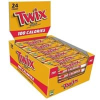 TWIX 100 Calories Caramel Chocolate Cookie Bar 24-Count Box -$8.25! $0.34 Ea!