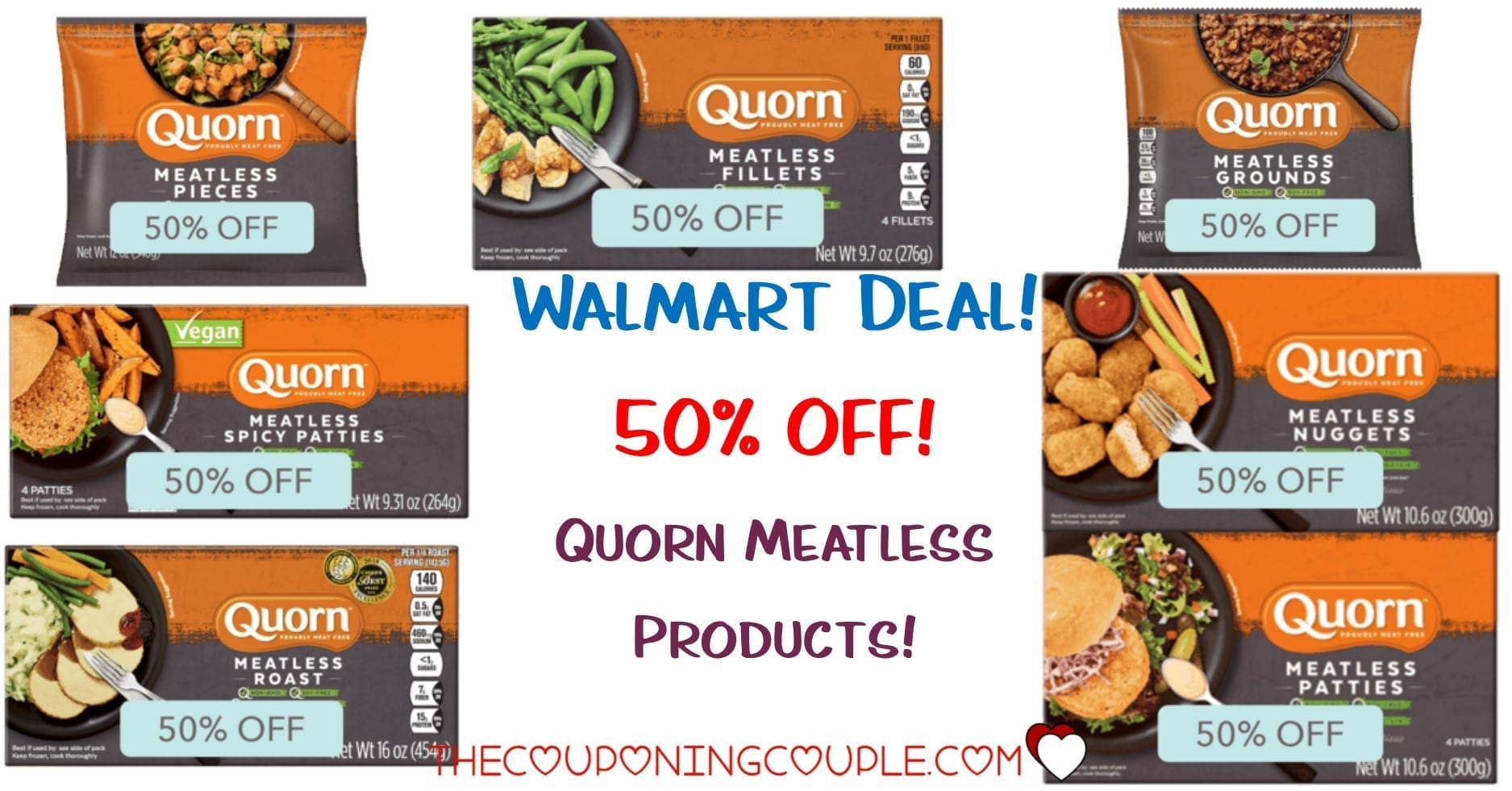 Quorn Meatless Products