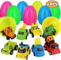 Easter Eggs Filled with Pull-Back Construction Vehicles- $4.80! Arrives by Easter!