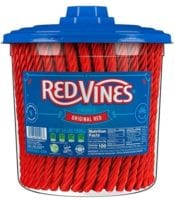 Red Vines Red Licorice Tub - 3.5 lb $7.90 Shipped - In stock